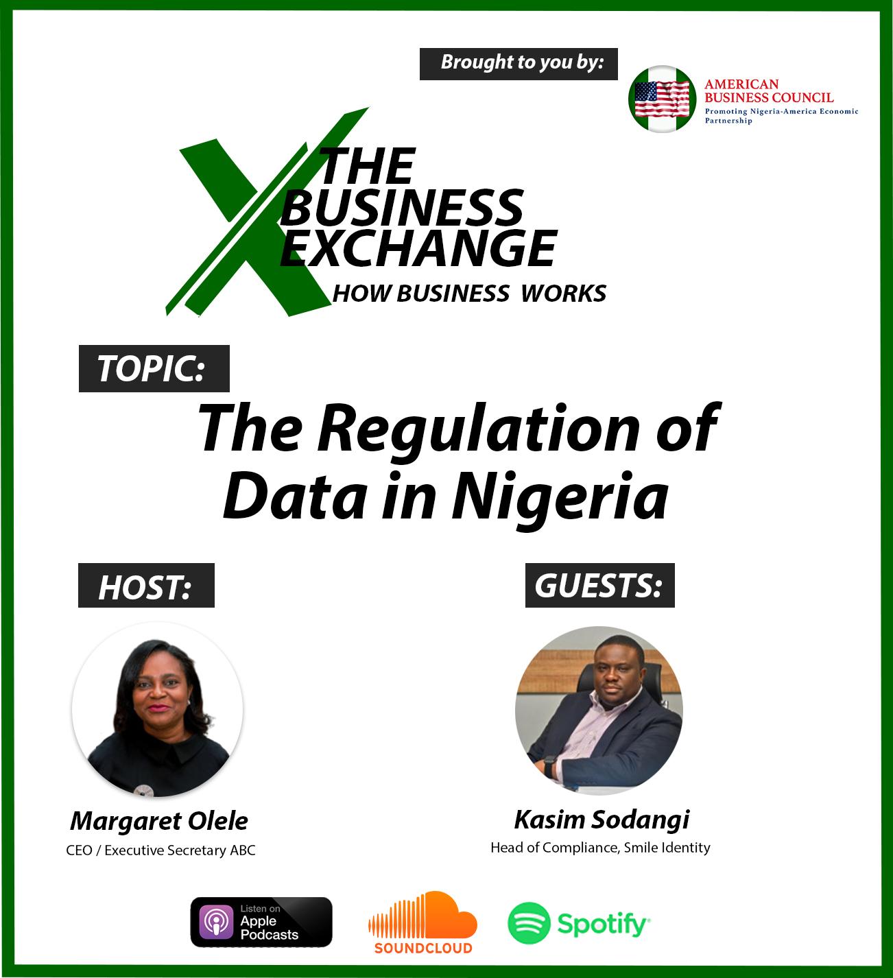 The Regulation of Data in Nigeria