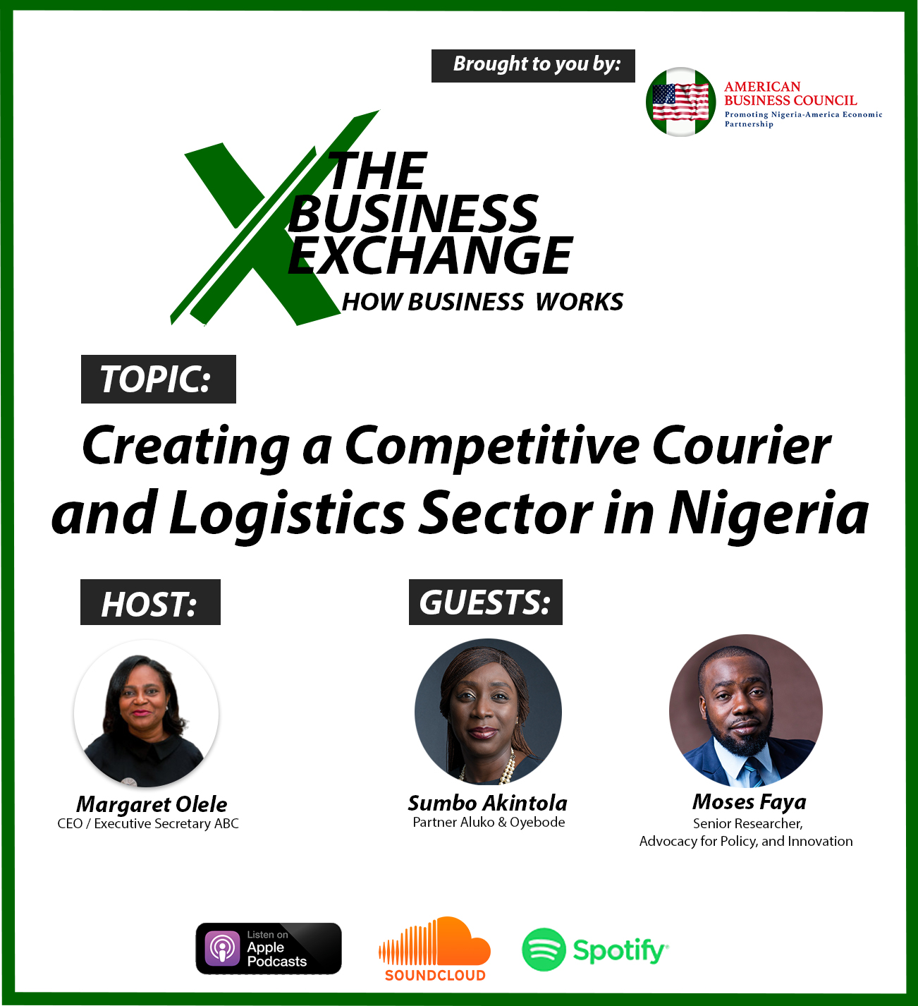 Creating a Competitive Courier and Logistics Sector in Nigeria